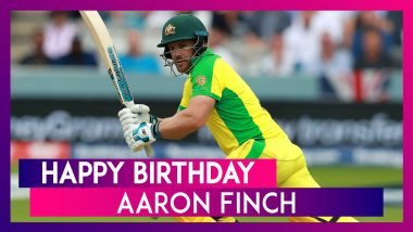 Happy Birthday Aaron Finch: Things To Know About Australian Captain